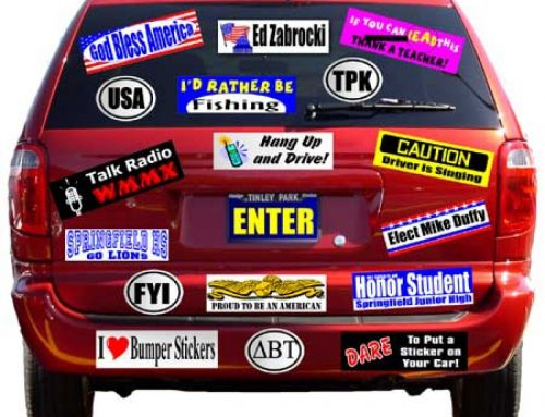 How to Remove Stickers From Your Car