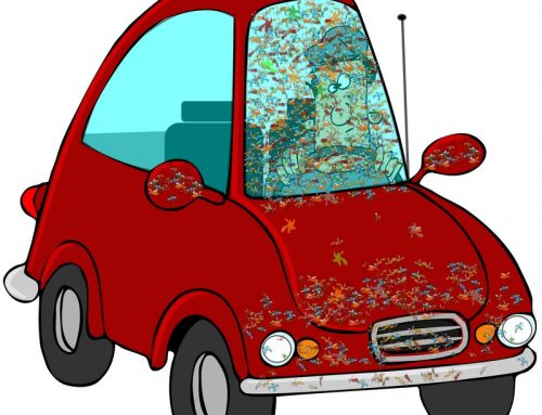 Remove Dead Bugs From Your Car With Dryer Sheets